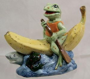 Artware Collectables Hi-Viz Reservoir Frog Novelty Teapot - NEW STOCK & NEW LOW PRICE - SOLD